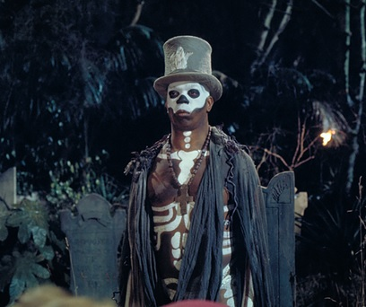 Baron Samedi from Live and Let Die