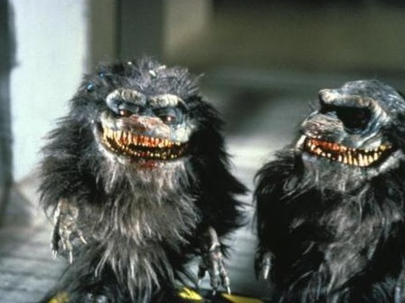 Two critters from the Critters films