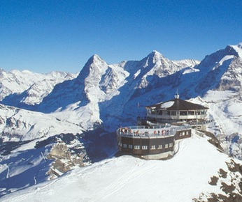 A photo of Piz Gloria as seen in On Her Majesty's Secret Service